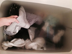 洗濯が難しい重い足置きマットも簡単洗浄
