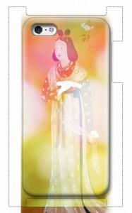 中将姫伝説のiPhoneケース