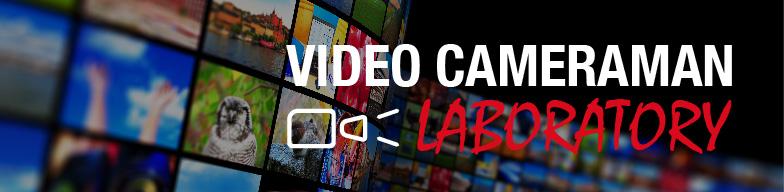 バナー:VIDEO CAMERAMAN LABORATORY